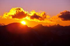 whitney landscapes - stock photo