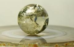 ball for mineral - stock photo