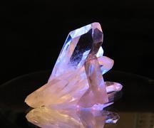Mountain crystall Stock Photos