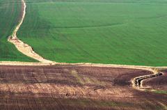Stock Photo of fields