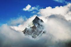 Himalajan vuoristo Kuvituskuvat