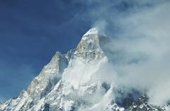 Shivling peak in india Stock Photos