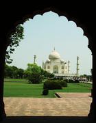 Taj mahal palace in agra,india Stock Photos