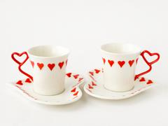 Stock Photo of two coffee cups