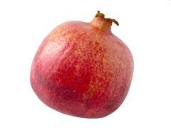 ripe pomegranate - stock photo