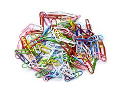 paper clip - stock photo