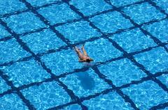 Stock Photo of girl in pool