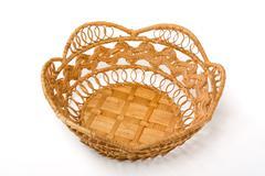 Stock Photo of empty basket