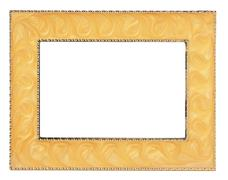 frame for processing pictures and photos - stock photo