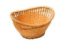 empty basket - stock photo