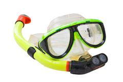 Equipment for diving Stock Photos