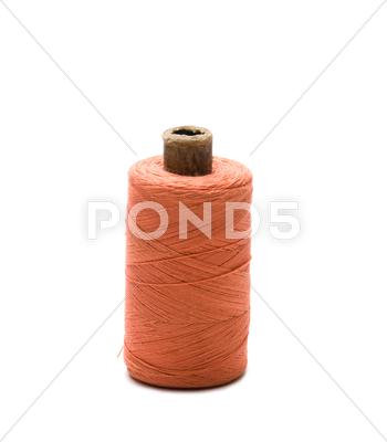 Stock photo of spool of thread