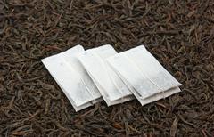Stock Photo of tea bags