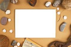 frames for photos - stock photo