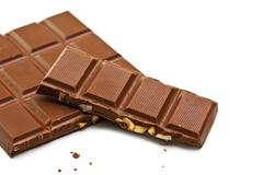 Stock Photo of bar of chocolate