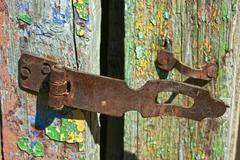 Old rusty lock Stock Photos