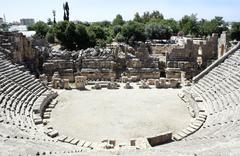 Amphitheater in myra Stock Photos