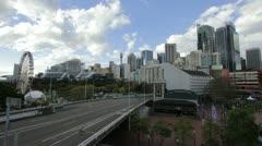 Sydney Skyline Wide Shot Stock Footage