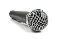Stock Photo of classic dynamic microphone
