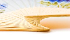 Folding fan Stock Photos