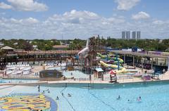 Stock Photo of Daytona Beach Water Park