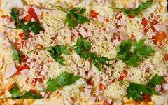 Stock Photo of prepack pizza
