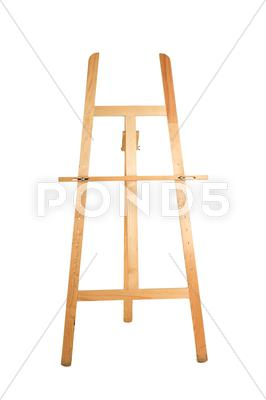 Stock photo of easel