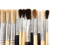 Stock Photo of brush drawing