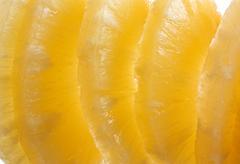 sliced pineapple - stock photo