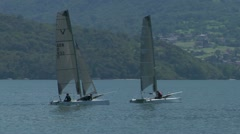 Catamaran 02 e Stock Footage