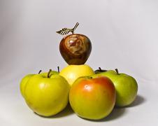 Apple hierarchy Stock Photos