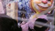 CHINESE PUPPET Mardi Gras Parade NEW ORLEANS 1960s Vintage Film Home Movie 4067 Stock Footage