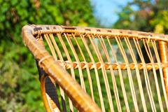 Stock Photo of chair in the garden