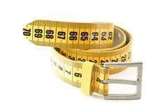 Meter belt slimming Stock Photos