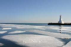 spring thaw - stock photo