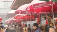 Chinese Market 3 Stock Footage