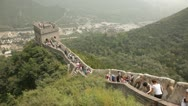 Great Wall of China 5 Stock Footage