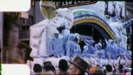 BLUE BIRDS OF HAPPINESS Mardi Gras New Orleans 1960 Vintage Film Home Movie 4088 Stock Footage