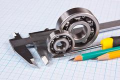 Stock Photo of technical tools