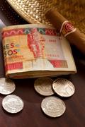 Cuban money Stock Photos