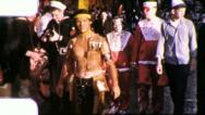 Street Scenes NEW ORLEANS CROWD Mardi Gras 1960 Vintage Film Home Movie 4108 Stock Footage