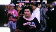 Stock Video Footage of WOMAN WITH A CAMERA  Mardi Gras New Orleans 1950s Vintage Film Home Movie 4110