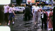 WRAP UP EMPTY STREET NEW ORLEANS 19590s Vintage Film Home Movie 4113 Stock Footage