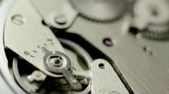 Watch Mechanism Stock Footage