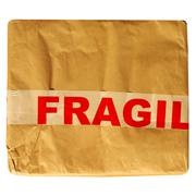 fragile picture - stock photo