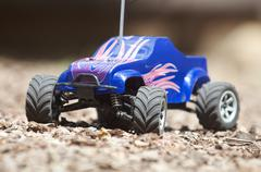 RC electric truck Stock Photos