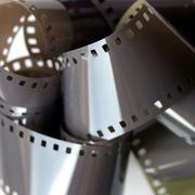 film groove - stock photo