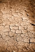 Dried cracked dirt  or mud Stock Photos