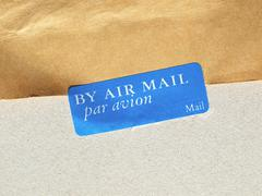 Airmail picture Stock Photos