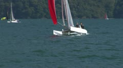 Catamaran 13 e Stock Footage